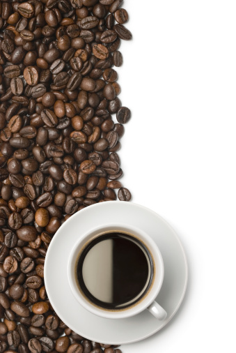 Black Coffee「Cup of coffee on beans」:スマホ壁紙(18)