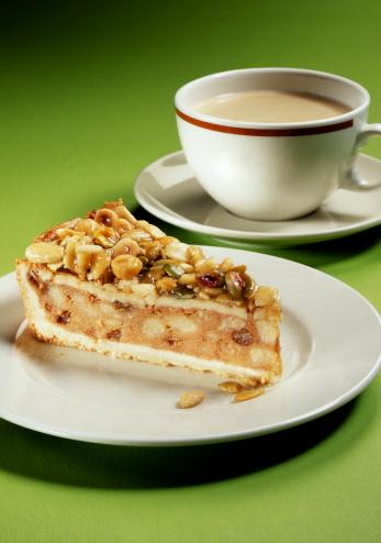 Pecan「おいしいコーヒー、アップルパイトップ、ナット付き」:スマホ壁紙(3)