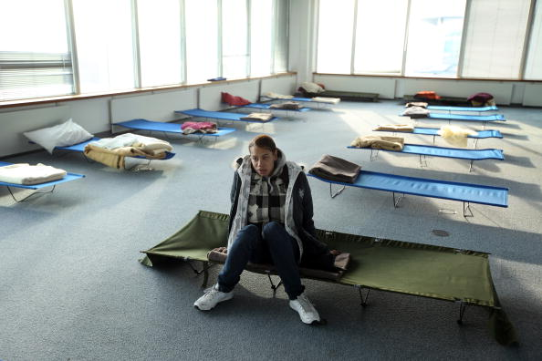 Homeless Shelter「Crisis Opens Its Doors To Help The Homeless During The Christmas Holidays」:写真・画像(2)[壁紙.com]