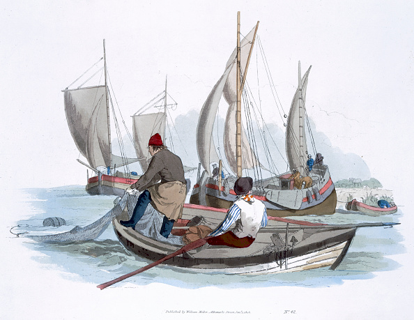 Fishing Boat「British Fishermen 1805」:写真・画像(19)[壁紙.com]