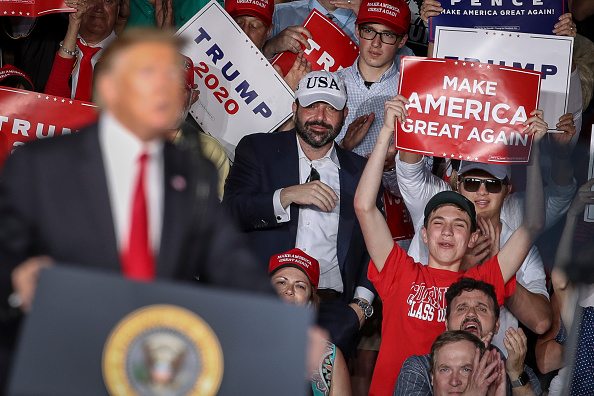 "MAGA「Donald Trump Holds ""MAGA"" Rally In Central Pennsylvania」:写真・画像(3)[壁紙.com]"