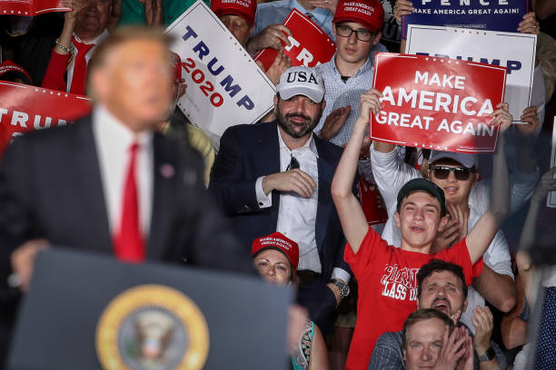 "Donald Trump Holds ""MAGA"" Rally In Central Pennsylvania:ニュース(壁紙.com)"