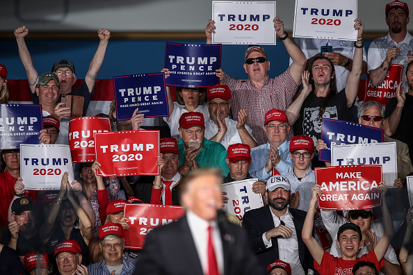 "MAGA「Donald Trump Holds ""MAGA"" Rally In Central Pennsylvania」:写真・画像(11)[壁紙.com]"