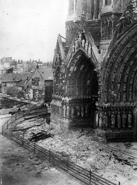 Damaged「Rheims Cathedral」:写真・画像(18)[壁紙.com]