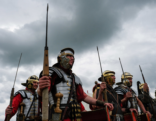 Historical Reenactment「Re-enactors Of Soldiers Throughout History Take Part In The Frontline -Sedgefield Event」:写真・画像(8)[壁紙.com]