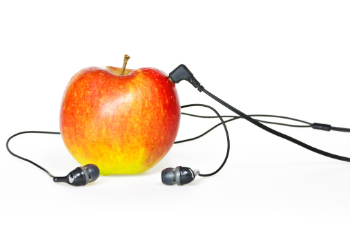 Rock Music「Apple Sound II」:スマホ壁紙(3)