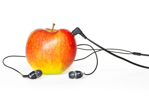 Rock Music「Apple Sound II」:スマホ壁紙(2)