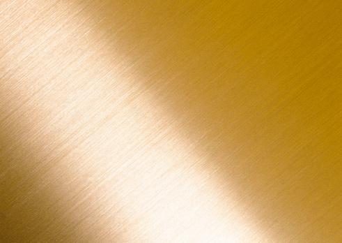 Hairline Polished Metal「Brass」:スマホ壁紙(2)