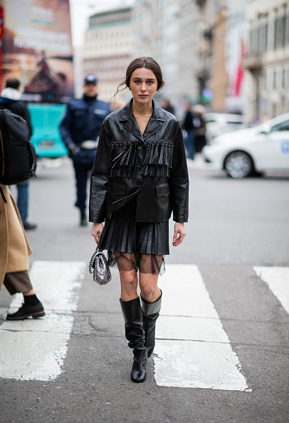 ストリートスナップ「Ermanno Scervino - Street Style - Milan Fashion Week 2019」:写真・画像(18)[壁紙.com]