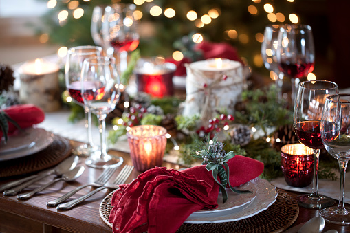 Christmas Decoration「Christmas Holiday Dining」:スマホ壁紙(13)