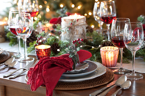 Place Setting「Christmas Holiday Dining」:スマホ壁紙(16)