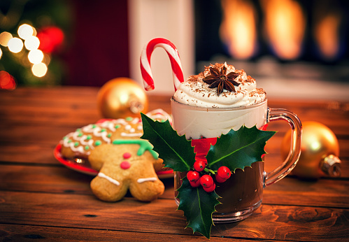 Sweet Food「Christmas Hot Chocolate」:スマホ壁紙(12)