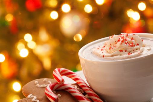 Candy Cane「Christmas Hot Chocolate」:スマホ壁紙(6)