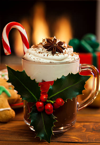 Christmas Hot Chocolate:スマホ壁紙(壁紙.com)