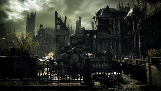 Hell「Post Apocalyptic Urban Landscape」:スマホ壁紙(18)