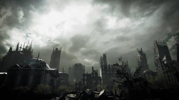 Post Apocalyptic Urban Landscape:スマホ壁紙(壁紙.com)