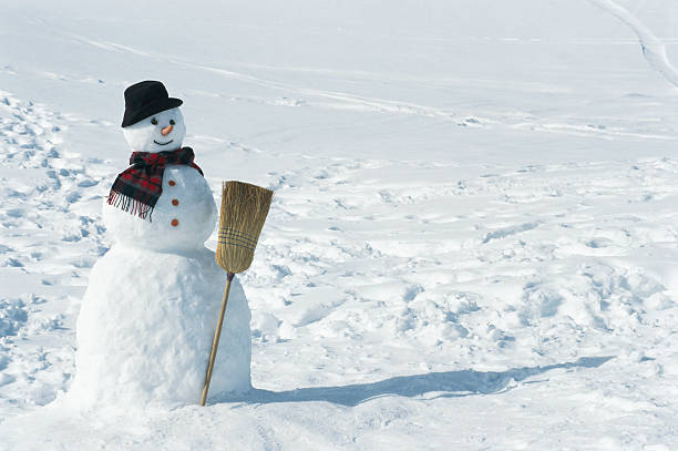 Snowman, close up:スマホ壁紙(壁紙.com)