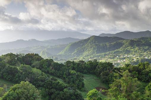 Volcanic Landscape「The tropical island paradise of Martinique.」:スマホ壁紙(8)