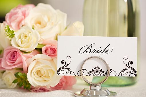 結婚「Brides place setting card」:スマホ壁紙(12)