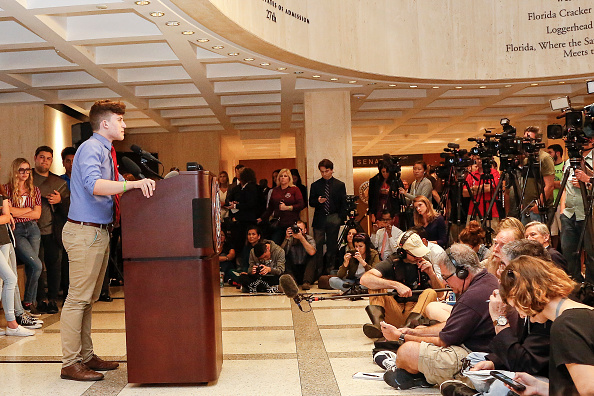 Tallahassee「Parkland Students, Activists, Rally At Florida State Capitol For Gun Control」:写真・画像(11)[壁紙.com]