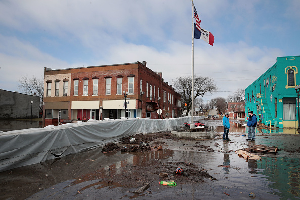 Scott Olson「Flooding Continues To Cause Devastation Across Midwest」:写真・画像(19)[壁紙.com]