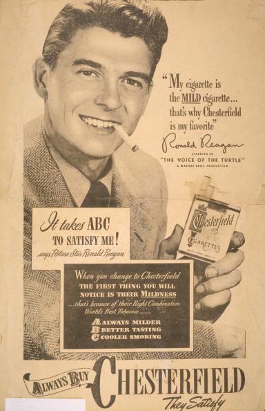 Cigarette「Reagan Shills For Chesterfield」:写真・画像(14)[壁紙.com]
