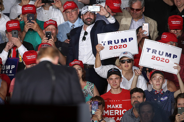 "MAGA「Donald Trump Holds ""MAGA"" Rally In Central Pennsylvania」:写真・画像(19)[壁紙.com]"