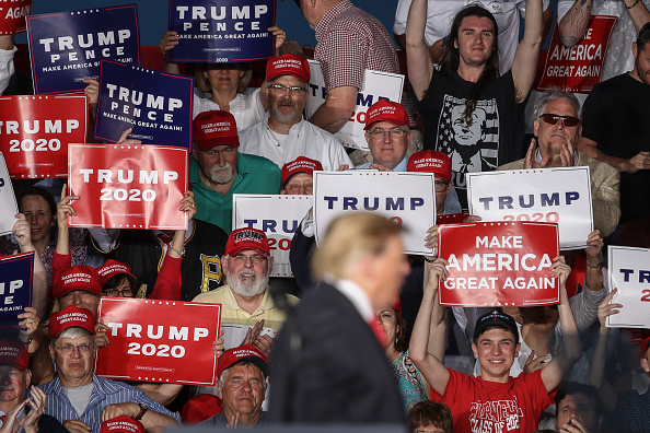 "MAGA「Donald Trump Holds ""MAGA"" Rally In Central Pennsylvania」:写真・画像(12)[壁紙.com]"