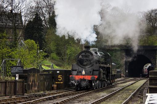 SL「Train, Grosmont, Yorkshire, England」:スマホ壁紙(0)