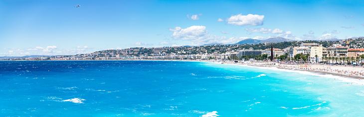ビーチ「Promenade des Anglais, Nice, France」:スマホ壁紙(4)