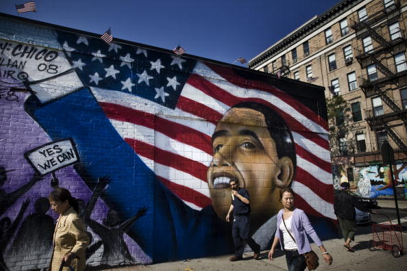 Street Art「Obama Street Art Surfaces In NYC Ahead Of The Election」:写真・画像(2)[壁紙.com]
