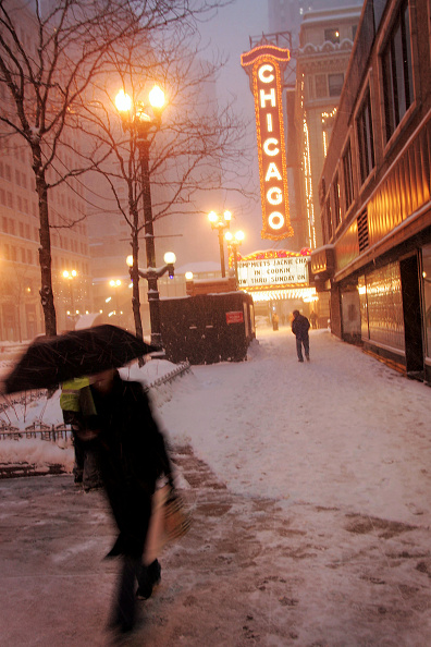 Snow「Midwest And East Coast Hit With Major Snowstorm」:写真・画像(8)[壁紙.com]
