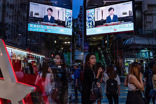 Extradition「Hong Kong Leader Carrie Lam Announces Formal Withdrawal of The Extradition Bill」:写真・画像(9)[壁紙.com]