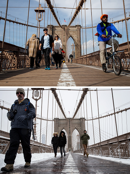 熱さ「From Balmy To Snow Storm: Extreme 48-Hour Weather Swing In New York City」:写真・画像(18)[壁紙.com]