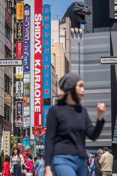 ゴジラ「Godzilla Welcomes Tourists To Tokyo」:写真・画像(9)[壁紙.com]