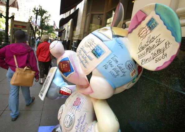 ミッキーマウス「Chicago Hosts Celebrity Mickey Mouse Statues」:写真・画像(10)[壁紙.com]