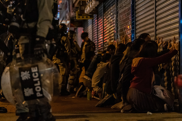 Mong Kok「Anti-Government Protests Continue in Hong Kong」:写真・画像(1)[壁紙.com]