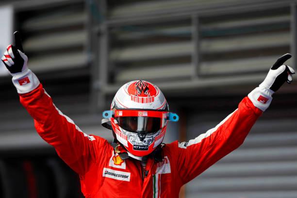 Kimi Räikkönen「Kimi Raikkonen, Grand Prix Of Belgium」:写真・画像(4)[壁紙.com]