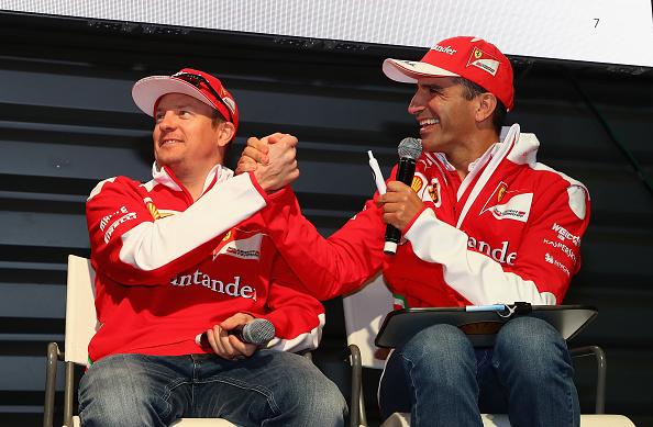 Kimi Räikkönen「Shell at the F1 Grand Prix of Mexico」:写真・画像(6)[壁紙.com]