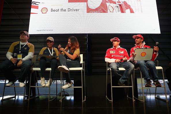 Kimi Räikkönen「Shell at the F1 Grand Prix of Mexico」:写真・画像(7)[壁紙.com]