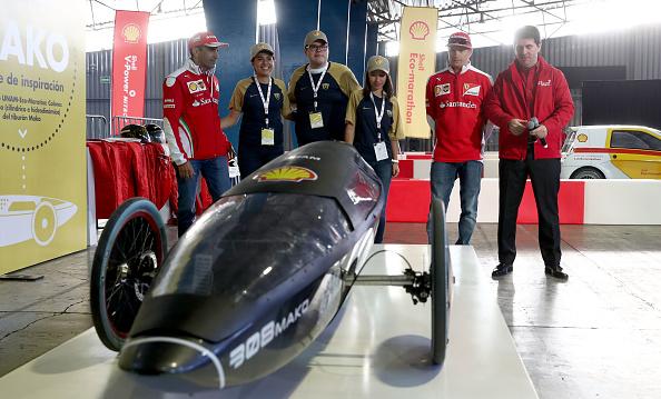 Kimi Räikkönen「Shell at the F1 Grand Prix of Mexico」:写真・画像(3)[壁紙.com]
