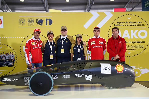 Kimi Räikkönen「Shell at the F1 Grand Prix of Mexico」:写真・画像(4)[壁紙.com]