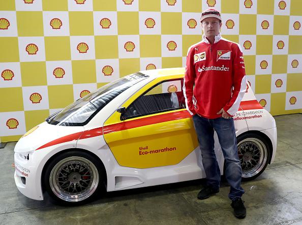 Kimi Räikkönen「Shell at the F1 Grand Prix of Mexico」:写真・画像(12)[壁紙.com]