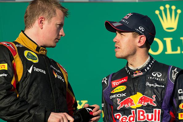 Kimi Räikkönen「Kimi Raikkonen, Sebastian Vettel, Grand Prix Of Australia」:写真・画像(14)[壁紙.com]