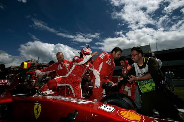 Kimi Räikkönen「Kimi Raikkonen, Grand Prix Of Europe」:写真・画像(16)[壁紙.com]