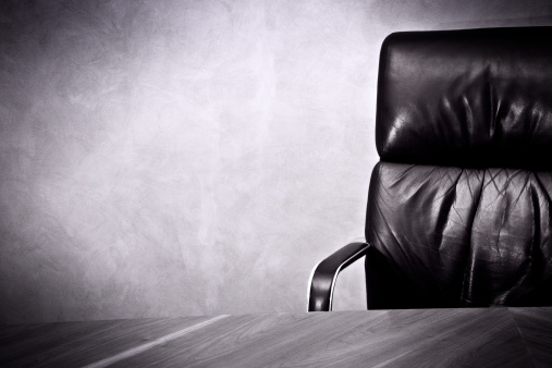 Monochrome「Old business great  Success- Leather chair and desk」:スマホ壁紙(17)