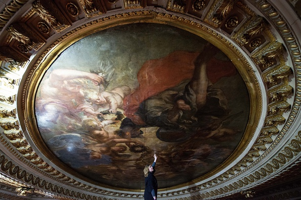Ceiling「Renovations Begin At The Banqueting House In Whitehall」:写真・画像(2)[壁紙.com]