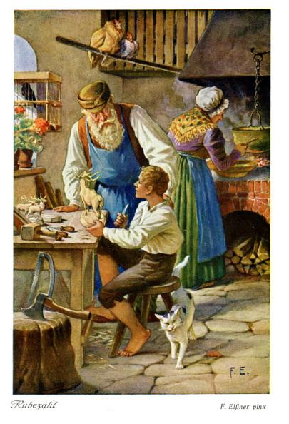 The Knife「Rübezahl - illustration by F. Elssner」:写真・画像(11)[壁紙.com]