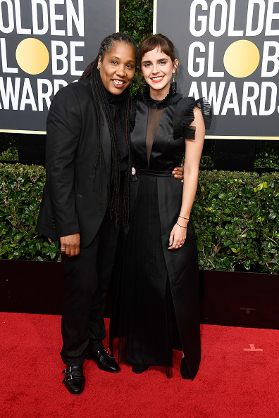 エマ・ワトソン「75th Annual Golden Globe Awards - Arrivals」:写真・画像(6)[壁紙.com]