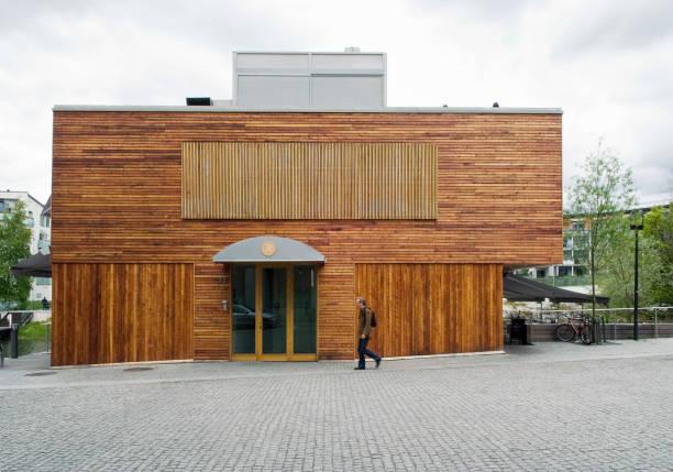 Restaurant within the mixed use regeneration scheme at Hammarby Sjostad, Stockholm, Sweden:ニュース(壁紙.com)